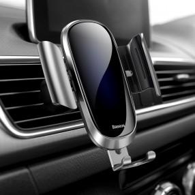 Suport auto BASEUS cu prindere grila ventilatie Future Gravity Car Mount - Silver