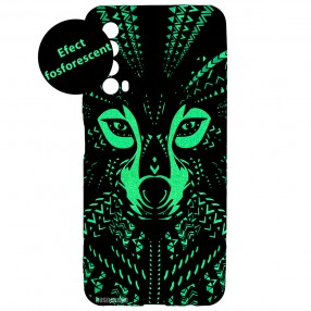 Husa Huawei P Smart 2021 LUXO TPU - Tribal Wolf
