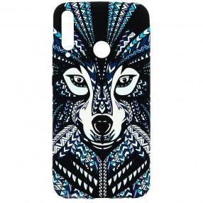 Husa Huawei P40 Lite E LUXO TPU - Tribal Wolf