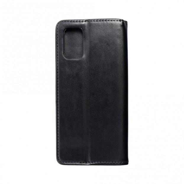 Husa Oppo A72 Magnet Book tip carte cu magnet, piele ecologica - negru