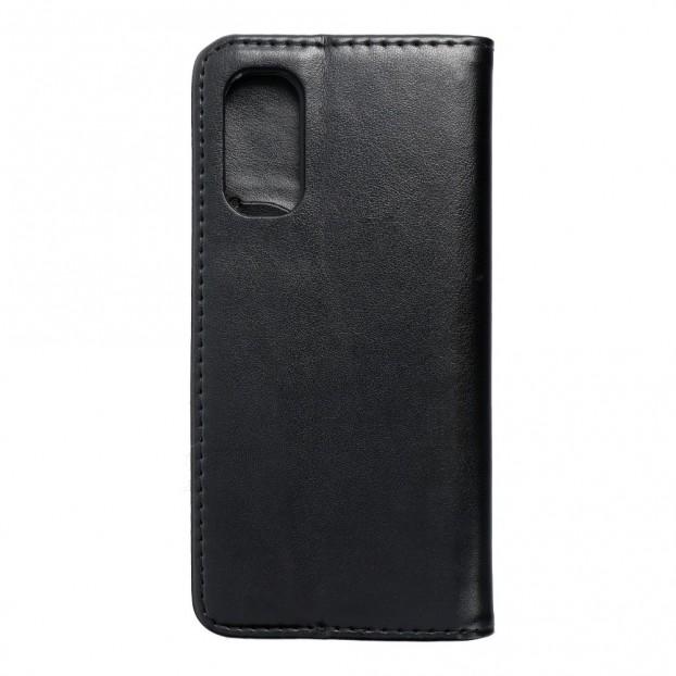 Husa Oppo Reno 4 Pro 5G Magnet Book tip carte cu magnet, piele ecologica - negru