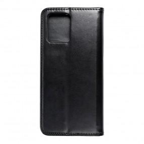 Husa Realme 8 Magnet Book tip carte cu magnet, piele ecologica - negru