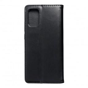 Husa Samsung Galaxy A02s Magnet Book tip carte cu magnet, piele ecologica - negru