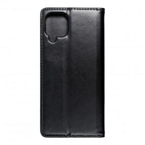 Husa Samsung Galaxy M12 Magnet Book tip carte  cu magnet, piele ecologica - negru