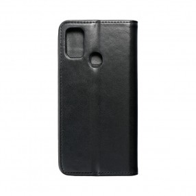Husa Samsung Galaxy M21 Magnet Book tip carte  cu magnet, piele ecologica - negru