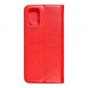 Husa Samsung Galaxy M31s Magnet Book tip carte cu magnet, piele ecologica - rosu