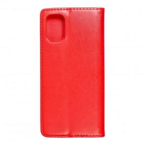Husa Samsung Galaxy M51 Magnet Book tip carte cu magnet, piele ecologica - rosu