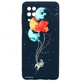 Husa Samsung Galaxy A12 LUXO TPU - Balloons or Planets