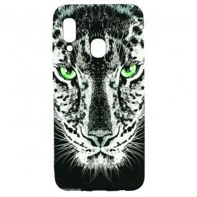 Husa Samsung Galaxy A20e LUXO TPU - Black Leopard
