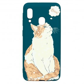 Husa Samsung Galaxy A20e LUXO TPU - Cat & Fish