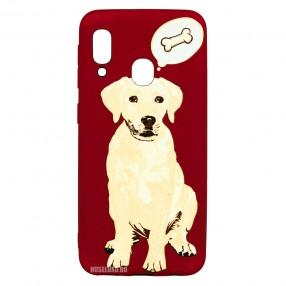 Husa Samsung Galaxy A20e LUXO TPU - Dog & Bone