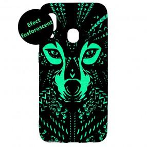 Husa Samsung Galaxy A20e LUXO TPU - Tribal Wolf