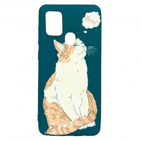 Husa Samsung Galaxy A21s LUXO TPU - Cat & Fish