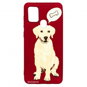 Husa Samsung Galaxy A21s LUXO TPU - Dog & Bone