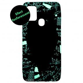 Husa Samsung Galaxy A21s LUXO TPU - Math Owl