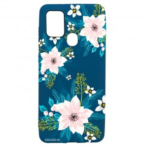 Husa Samsung Galaxy A21s LUXO TPU - Summer Flowers