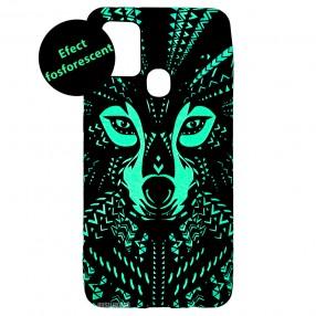 Husa Samsung Galaxy A21s LUXO TPU - Tribal Wolf