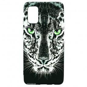 Husa Samsung Galaxy A41 LUXO TPU - Black Leopard