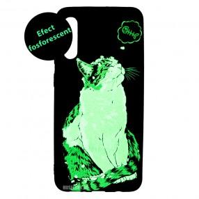 Husa Samsung Galaxy A50 LUXO TPU - Cat & Fish