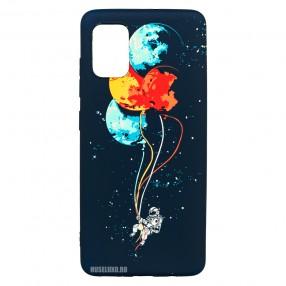 Husa Samsung Galaxy A51 LUXO TPU - Balloons or Planets
