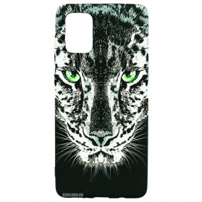 Husa Samsung Galaxy A51 LUXO TPU - Black Leopard