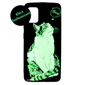 Husa Samsung Galaxy A51 LUXO TPU - Cat & Fish