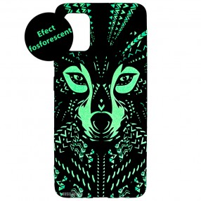 Husa Samsung Galaxy A51 LUXO TPU - Tribal Wolf