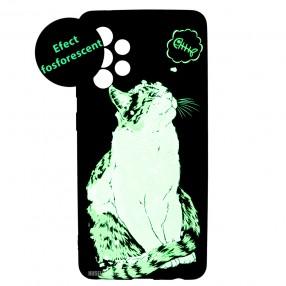 Husa Samsung Galaxy A52 LUXO TPU - Cat & Fish