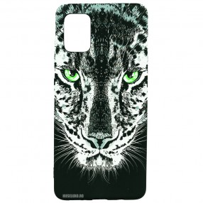 Husa Samsung Galaxy A71 LUXO TPU - Black Leopard