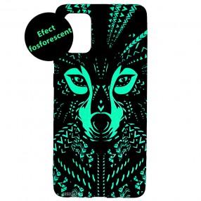 Husa Samsung Galaxy A71 LUXO TPU - Tribal Wolf
