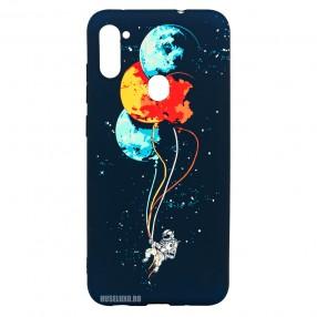 Husa Samsung Galaxy M11 LUXO TPU - Balloons or Planets