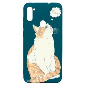 Husa Samsung Galaxy M11 LUXO TPU - Cat & Fish
