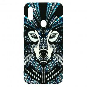 Husa Samsung Galaxy M11 LUXO TPU - Tribal Wolf