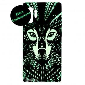 Husa Samsung Galaxy Note 10+ Plus LUXO TPU - Tribal Wolf