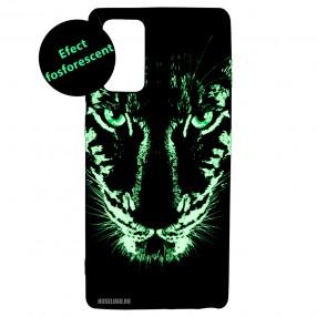 Husa Samsung Galaxy Note 20 LUXO TPU - Black Leopard