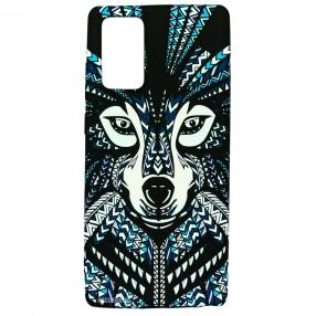 Husa Samsung Galaxy Note 20 LUXO TPU - Tribal Wolf