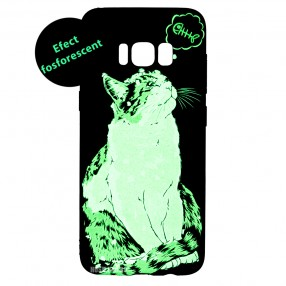 Husa Samsung Galaxy S8 LUXO TPU - Cat and Fish