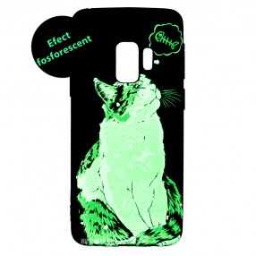 Husa Samsung Galaxy S9 LUXO TPU - Cat and Fish