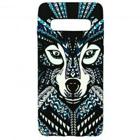 Husa Samsung Galaxy S10 Plus LUXO TPU - Tribal Wolf