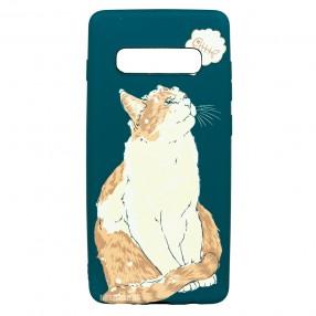 Husa Samsung Galaxy S10+ Plus LUXO TPU - Cat & Fish