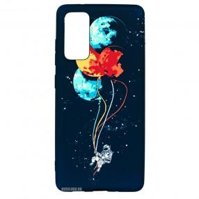 Husa Samsung Galaxy S20 Plus LUXO TPU - Balloons or Planets