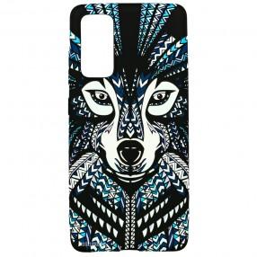 Husa Samsung Galaxy S20 LUXO TPU - Tribal Wolf
