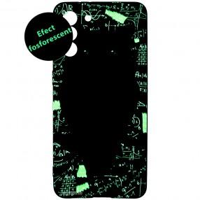 Husa Samsung S21 LUXO TPU Glow in the Dark - Math Owl
