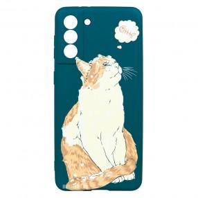 Husa Samsung Galaxy S21+ Plus LUXO TPU - Cat & Fish