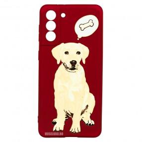 Husa Samsung Galaxy S21+ Plus LUXO TPU - Dog & Bone