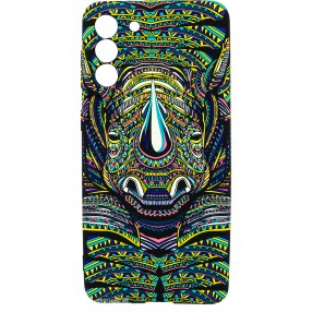 Husa Samsung S21 LUXO TPU Glow in the Dark -  Tribal Rhino