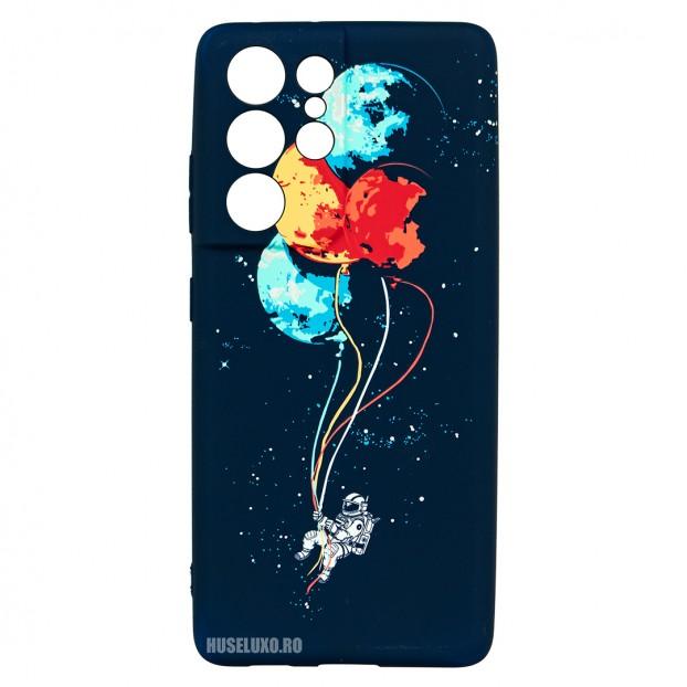 Husa Samsung Galaxy S21 UItra LUXO TPU - Balloons or Planets
