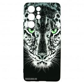 Husa Samsung Galaxy S21 UItra LUXO TPU - Black  Leopard