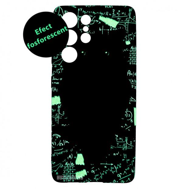 Husa Samsung Galaxy S21 UItra LUXO TPU - Math Owl