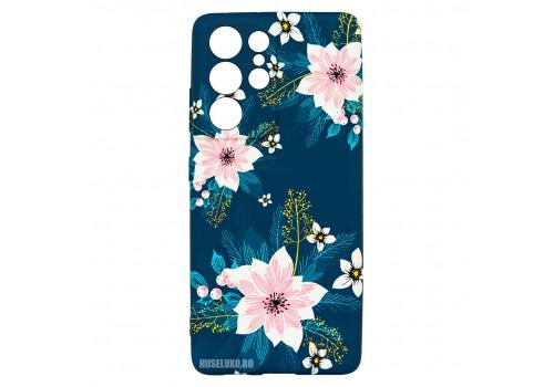 Husa Samsung Galaxy S21 UItra LUXO TPU - Summer Flowers